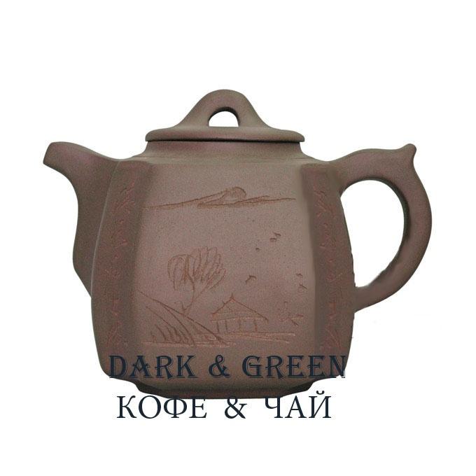 Глиняный чайник Хуаншань 1300 мл.