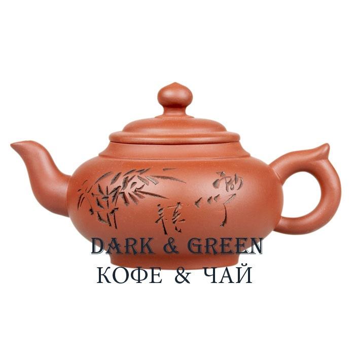 Глиняный чайник Поющий лес 350 мл.