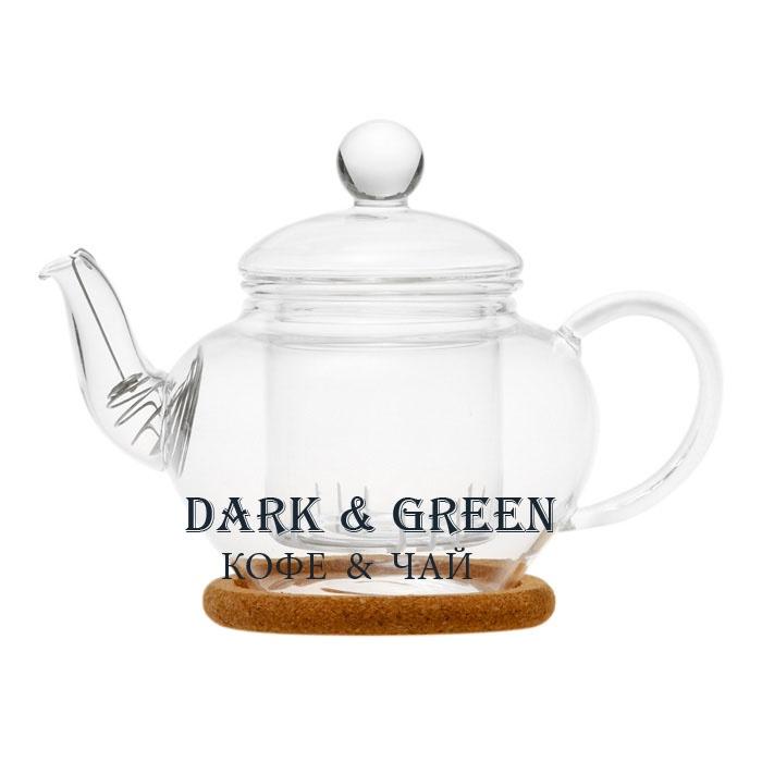 """Чайник из стекла """"Нарцисс"""" 350 мл."""