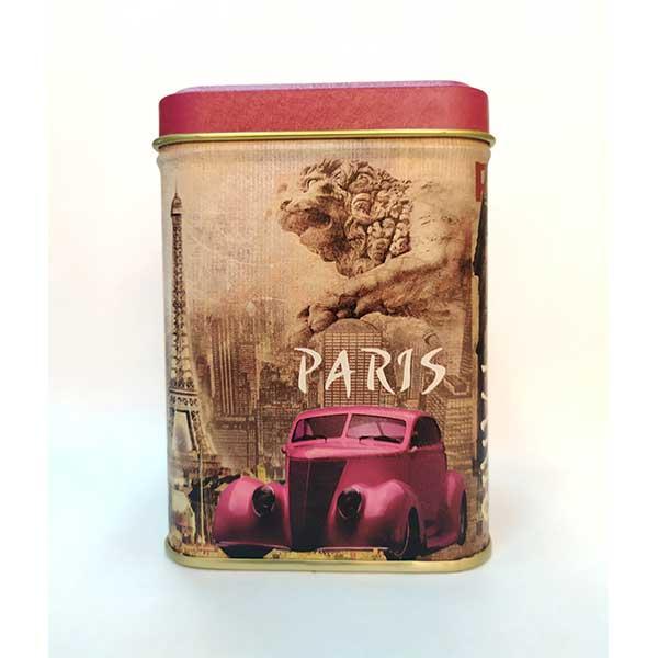 "Банка для чая  ""Париж"""