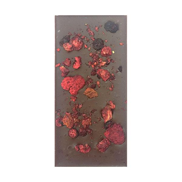 Шоколад ручной работы «Ягодное ассорти»
