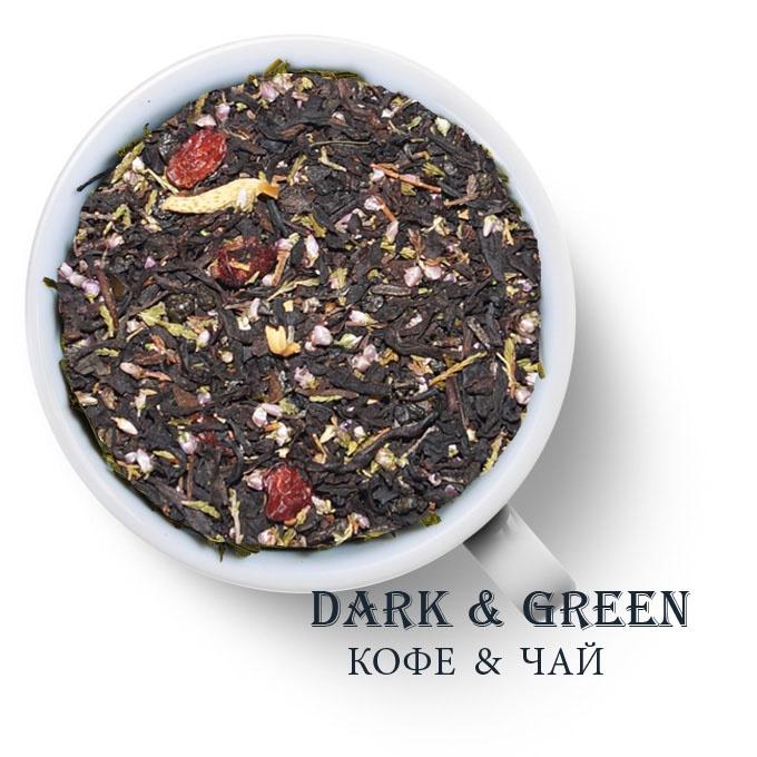 Чай зеленый с черным ароматизированный Адажио