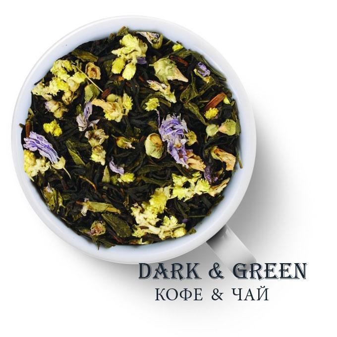 Чай зеленый с черным ароматизированный Князь Багратион