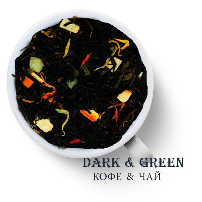 Чай зеленый с черным ароматизированный Будда