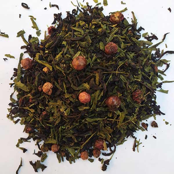 Чай зеленый с черным ароматизированный Лунный Замок
