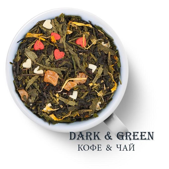 Чай зеленый с черным ароматизированный Основной Инстинкт
