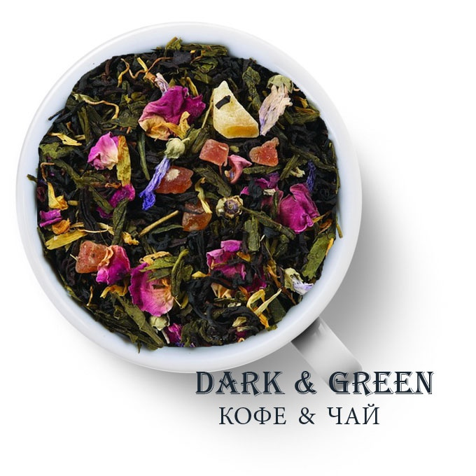 Чай зеленый с черным ароматизированный Персидские Ночи 4
