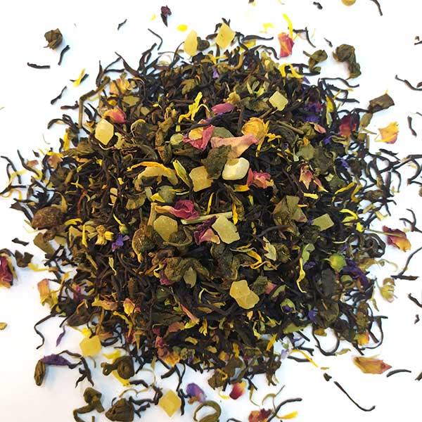 Чай зеленый с черным ароматизированный Тайны Клеопатры