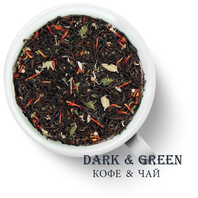 Чай зеленый с черным ароматизированный Татарский