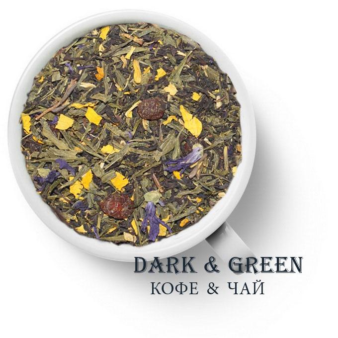 Чай зеленый с черным ароматизированный Времена года