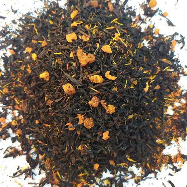 Чай черный ароматизированный Айва с персиком