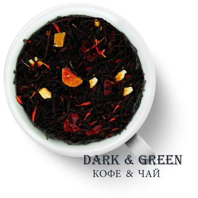 Чай черный ароматизированный Черный Император