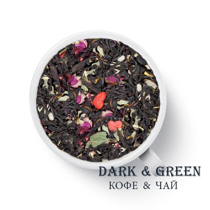 Чай черный ароматизированный Для любимых
