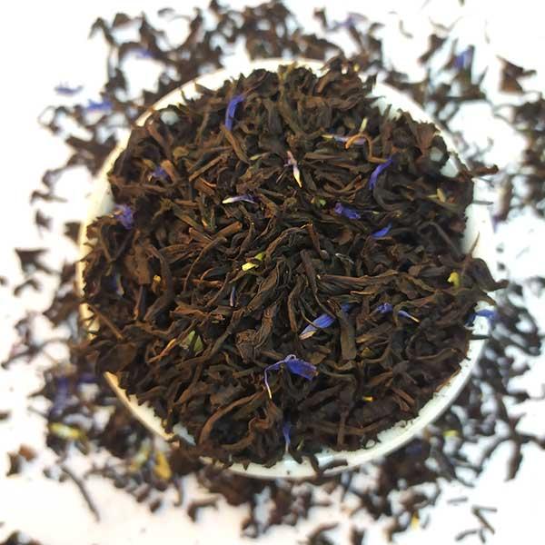 Чай черный ароматизированный Эрл Грей Голубой цветок