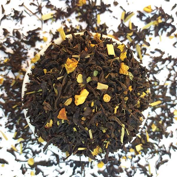 Чай черный ароматизированный Имбирь с лимоном
