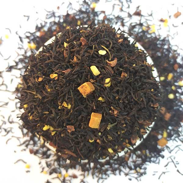 Чай черный ароматизированный Карамель в шоколаде