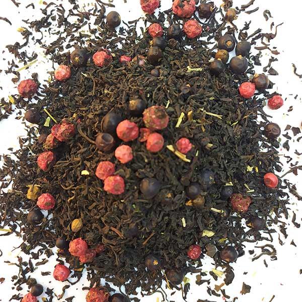 Чай черный ароматизированный Можжевеловый