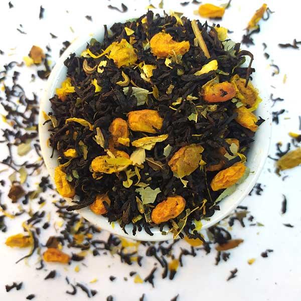 Чай черный ароматизированный Облепиха