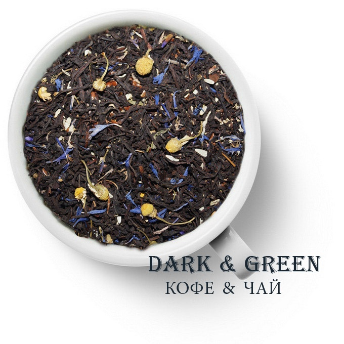 Чай черный ароматизированный Русский лен