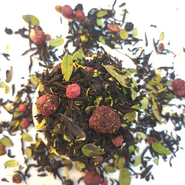 Чай черный ароматизированный Северные ягоды