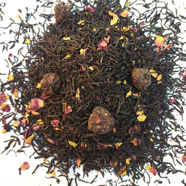 Чай черный ароматизированный Спелая Вишня