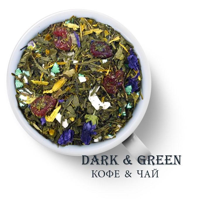 Чай зеленый ароматизированный Бенгальские огни