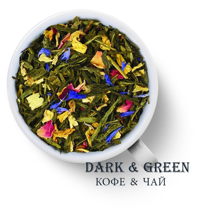 Чай зеленый ароматизированный Доброе утро