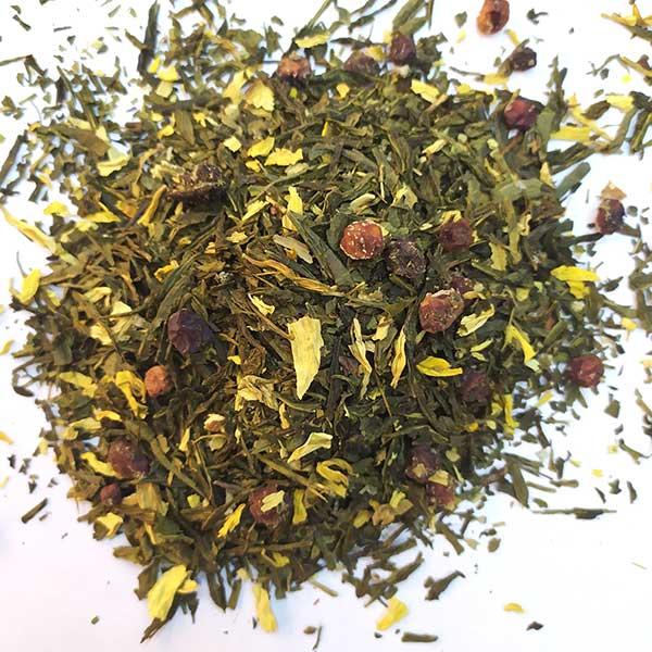 Чай зеленый ароматизированный Карельский сбор