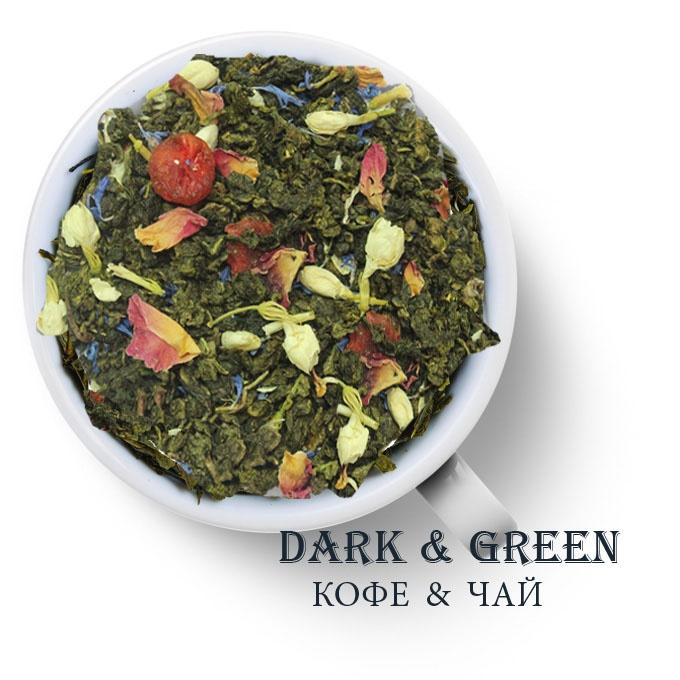Чай зеленый ароматизированный Сказки Шахерезады