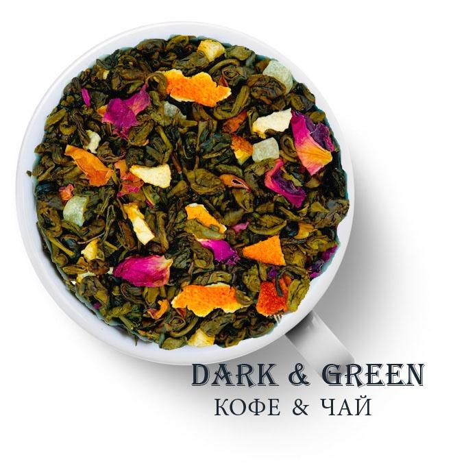 Чай зеленый ароматизированный Сокровище Амазонок