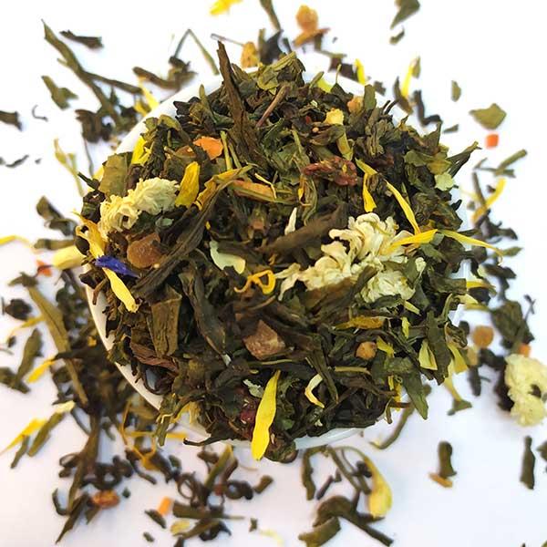 Чай зеленый ароматизированный Танец гейши