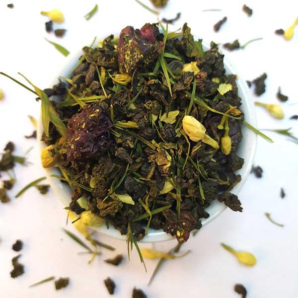Чай зеленый ароматизированный Уссурийский Тигр