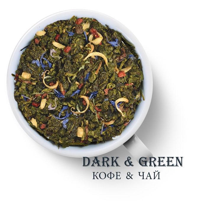 Чай зеленый ароматизированный Венский вальс