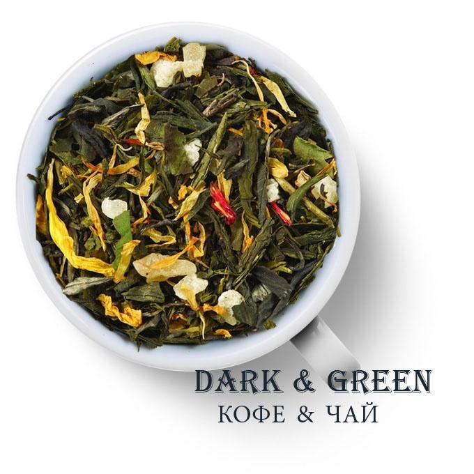 Чай зеленый ароматизированный Восемь Сокровищ Шаолиния