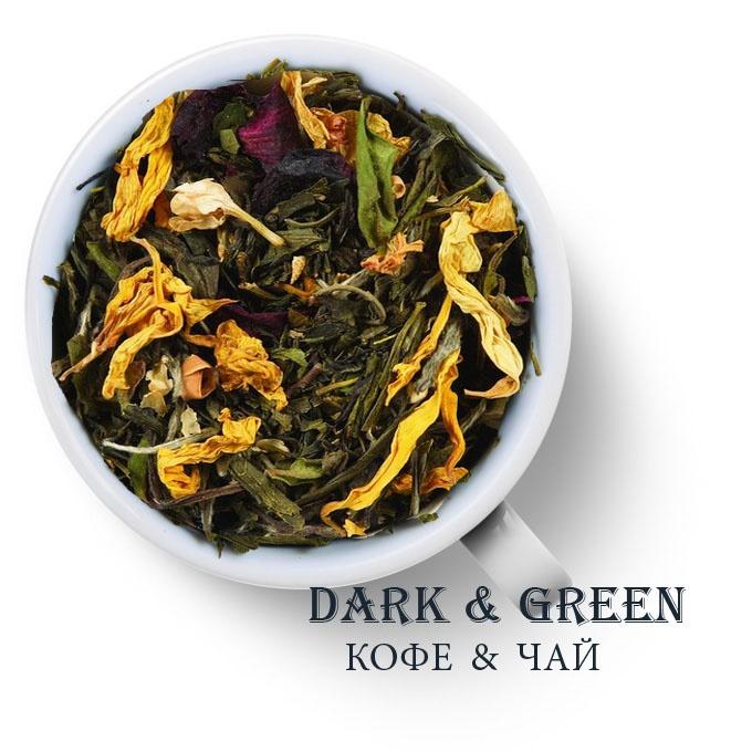 Чай зеленый ароматизированный Белая Жемчужина Фудзиямы