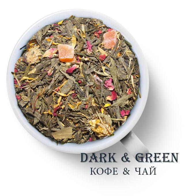 Чай зеленый ароматизированный Золотая Фортуна