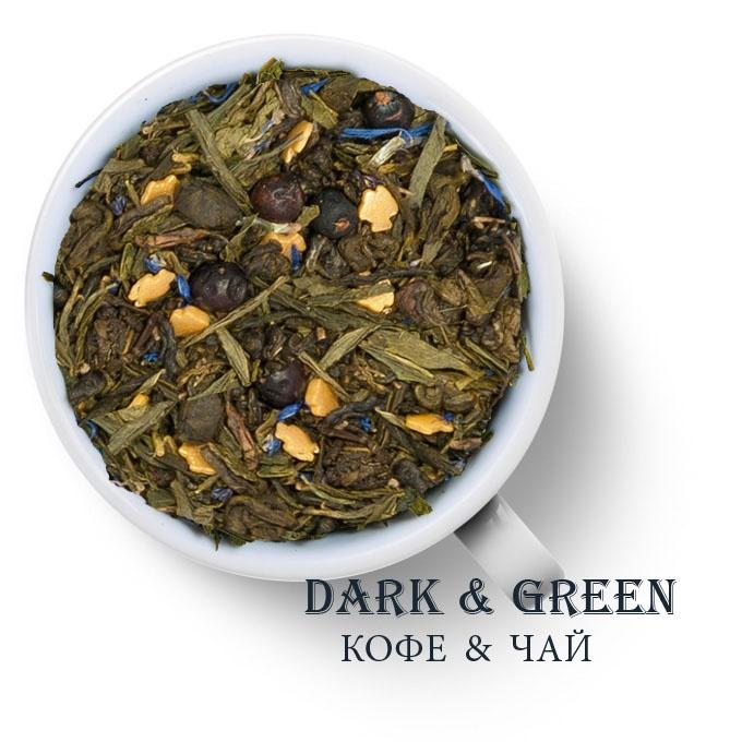 Чай зеленый ароматизированный Золотая рыбка