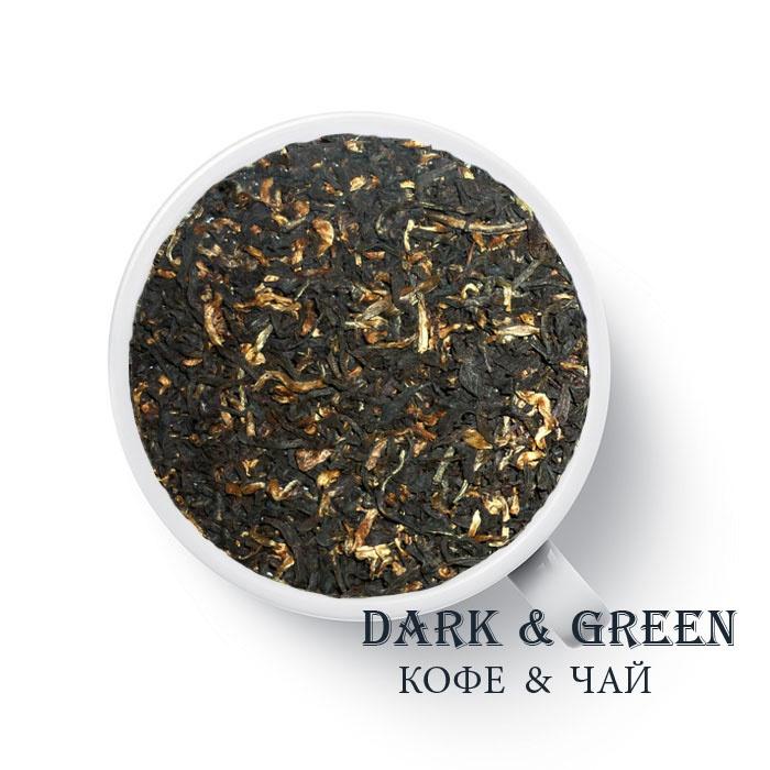 Плантационный черный чай Индия Ассам Мангалам FTGFOP1