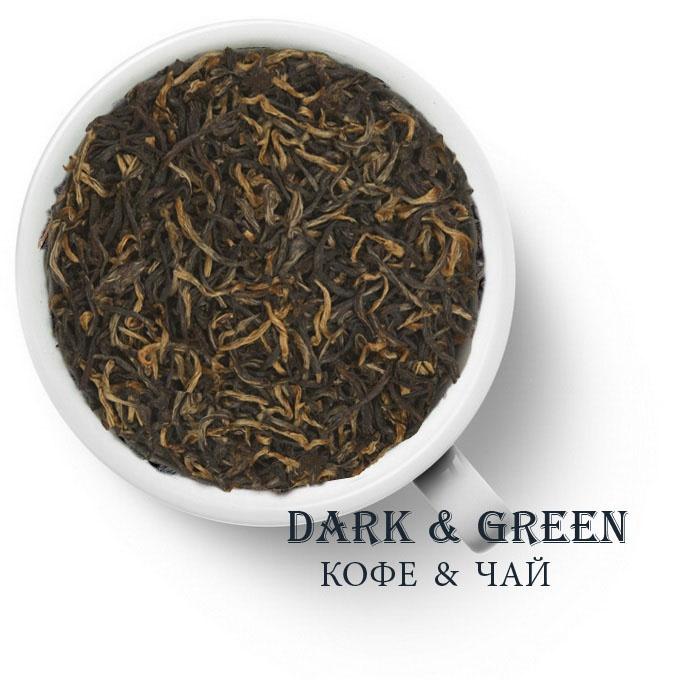 Плантационный черный чай Индия Ассам Мангалам GTGFOP1