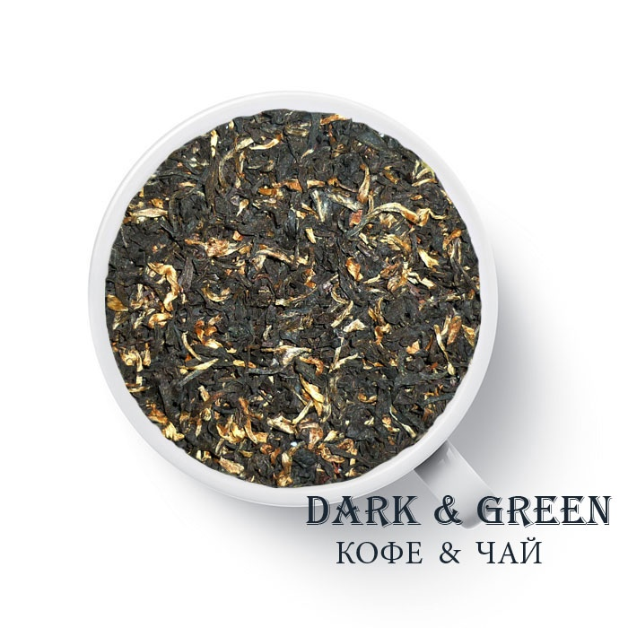 Плантационный черный чай Индия Ассам Меленг FTGFOP1