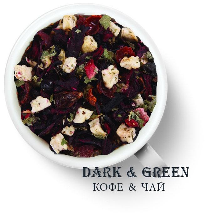 Чайный напиток на основе ягод и фруктов Бабушкина корзина
