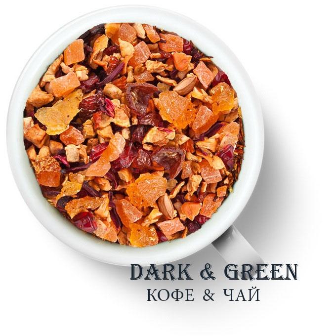 Чайный напиток на основе ягод и фруктов Фруктовый микс
