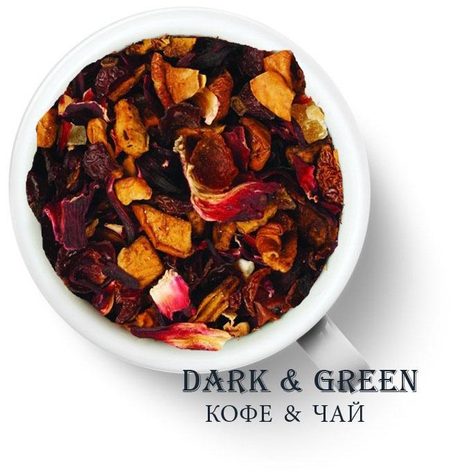Чайный напиток на основе ягод и фруктов Папайя-пуддинг