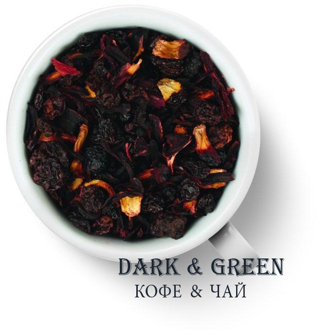 Чайный напиток на основе ягод и фруктов Пуддинг