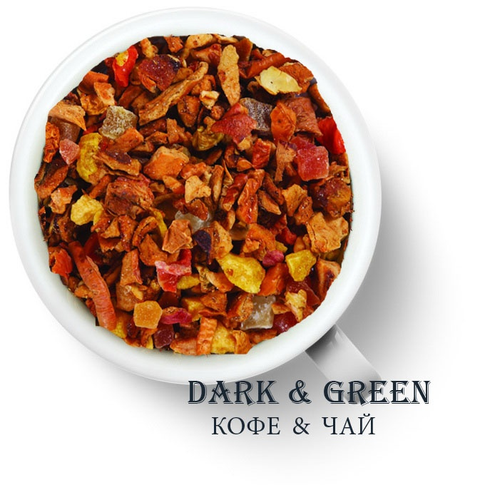 Чайный напиток на основе ягод и фруктов Турецкий яблочный