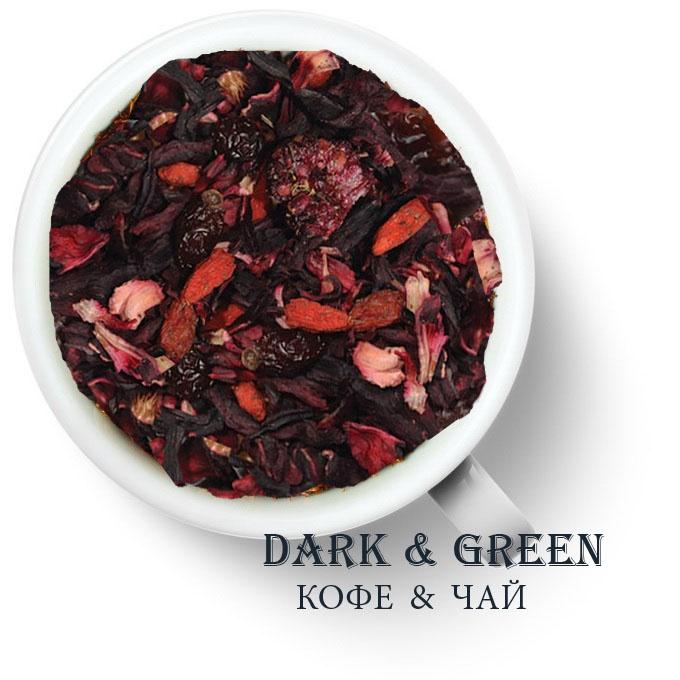 Чайный напиток на основе ягод и фруктов Ягодная фантазия